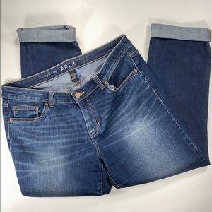 Apt 9 Women's Modern Cropped Jeans Size 12